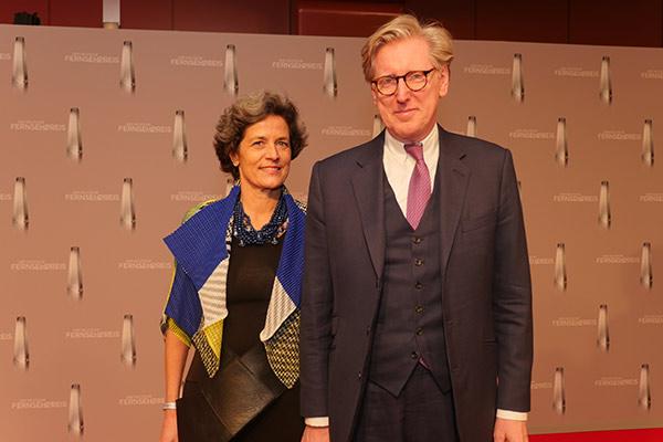 Theo Koll mit Ehefrau