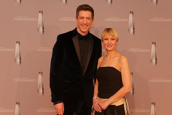 Steffen Hallaschka mit seiner Frau