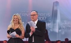 Barbara Schöneberger und Oliver Welke