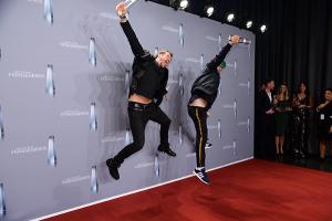 Thore Schölermann und Mark Forster