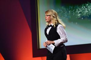 Barbara Schöneberger moderiert den DFP18