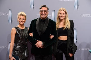 Ella Endlich, Mousse T. und Carolin Niemczyk