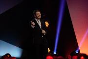 Jörg Schönborn begrüßt zur Verleihung