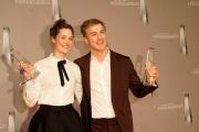 Vicky Krieps und Albrecht Schuch