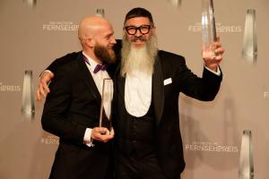 """Beste Ausstattung Show:  Oli Egon Ide und Guido Heinz Frinken für """"Das große Backen"""""""