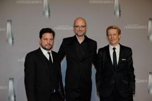 Sascha Alexander Gersak, Kilian Riedhof und Alexander Scheer