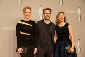 Matthias Matschke, Judith Richter und Valerie Niehaus