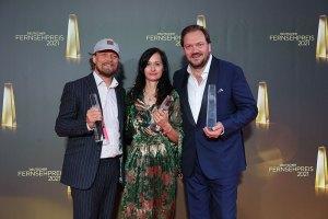 Lars Jessen , Carolin Haasis und Charly Hübner