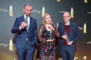 Jan Böhmermann, Markus Hennig, Hanna Herbst für ZDF Magazin Royale