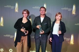 Antje Boehmert, Carl Giertorfer und Ute Beutler für Charité intensiv – Station 43  - Beste Dokuserie