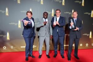 Leopold Hoesch, Gerald Asamoah, Thomas Fuhrmann, Gerrit Roth für Schwarze Adler – Beste Dokumentation