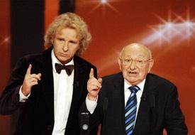 Gala 2008 - Thomas Gottschalk und Marcel Reich-Ranicki