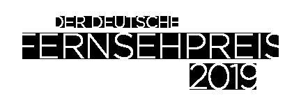 Deutscher Fernsehpreis 2019 Logo